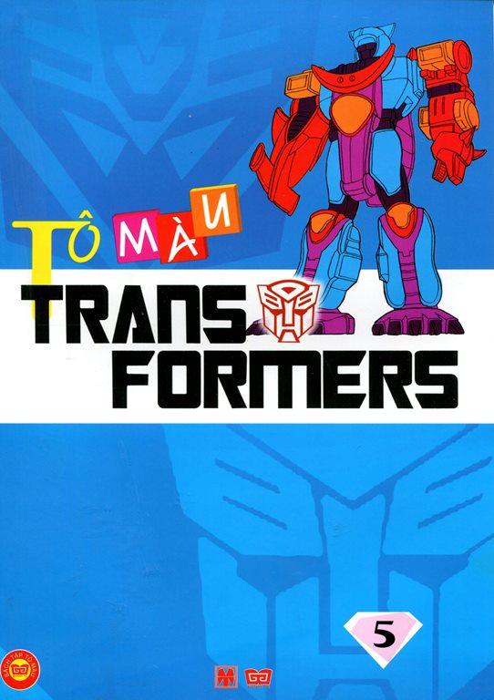 Bìa sách Tô Màu Trans Formers (Tập 5)