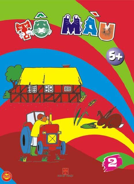 Bìa sách Tô Màu 5+ T2