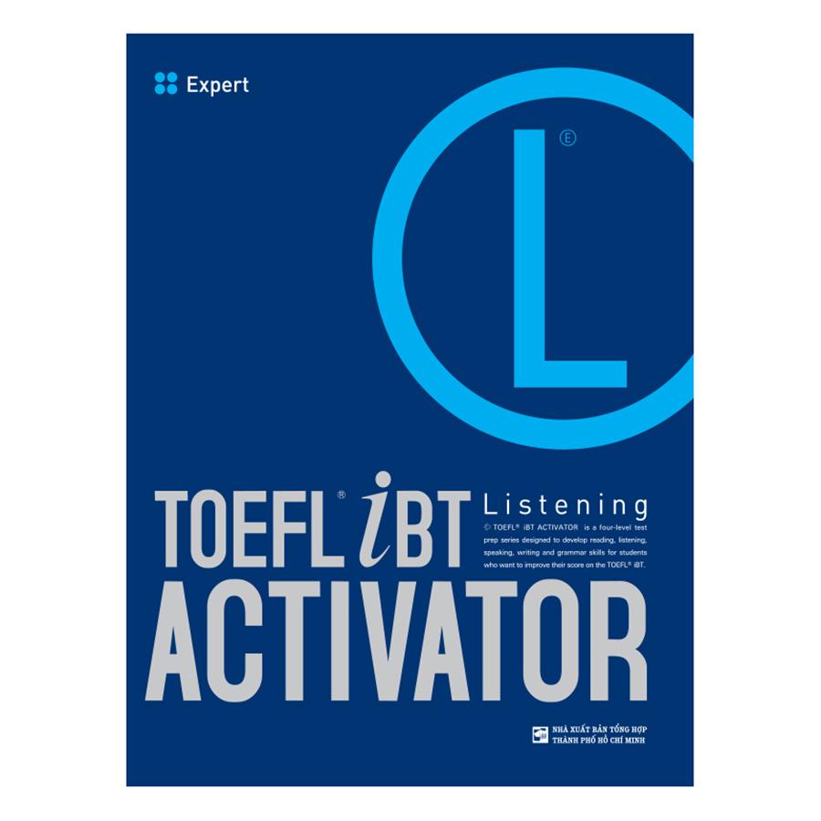 Bìa sách TOEFL iBT Activator Listening: Expert (Without Audio CD)