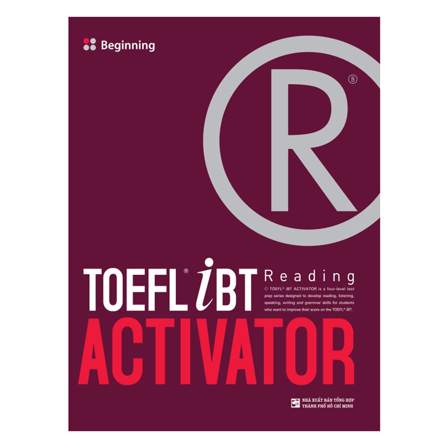 Bìa sách TOEFL iBT Activator Reading: Beginning