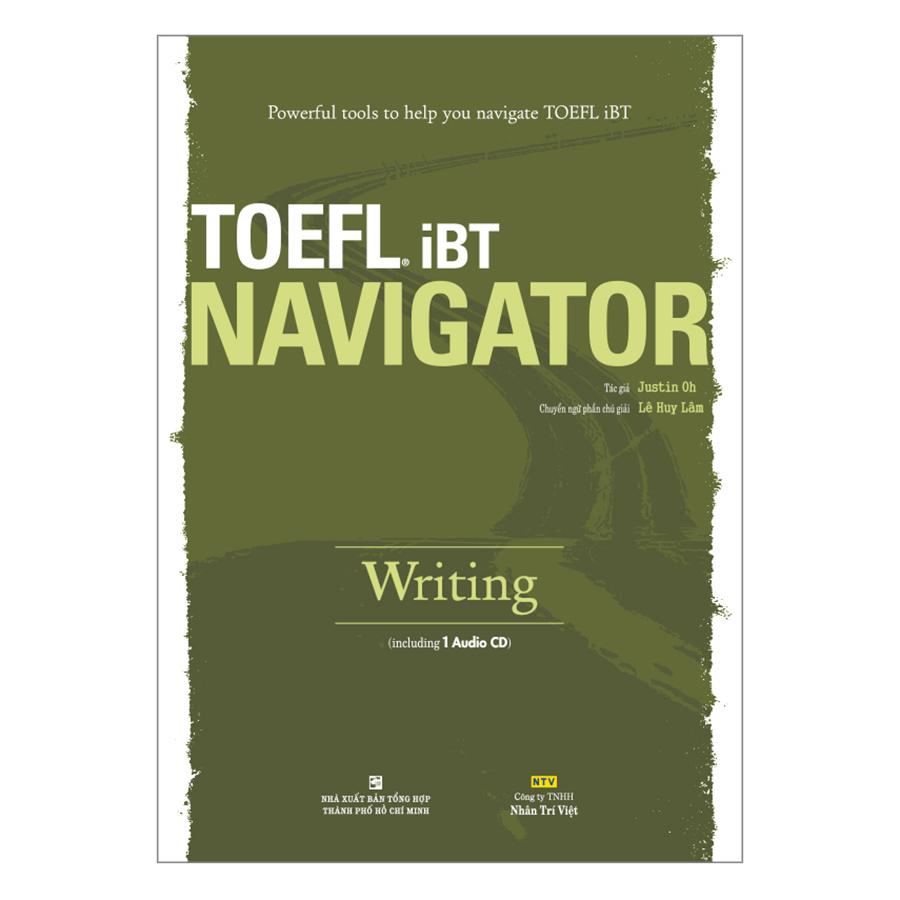 Bìa sách TOEFL iBT Navigator: Writing (Kèm 1 Đĩa CD)
