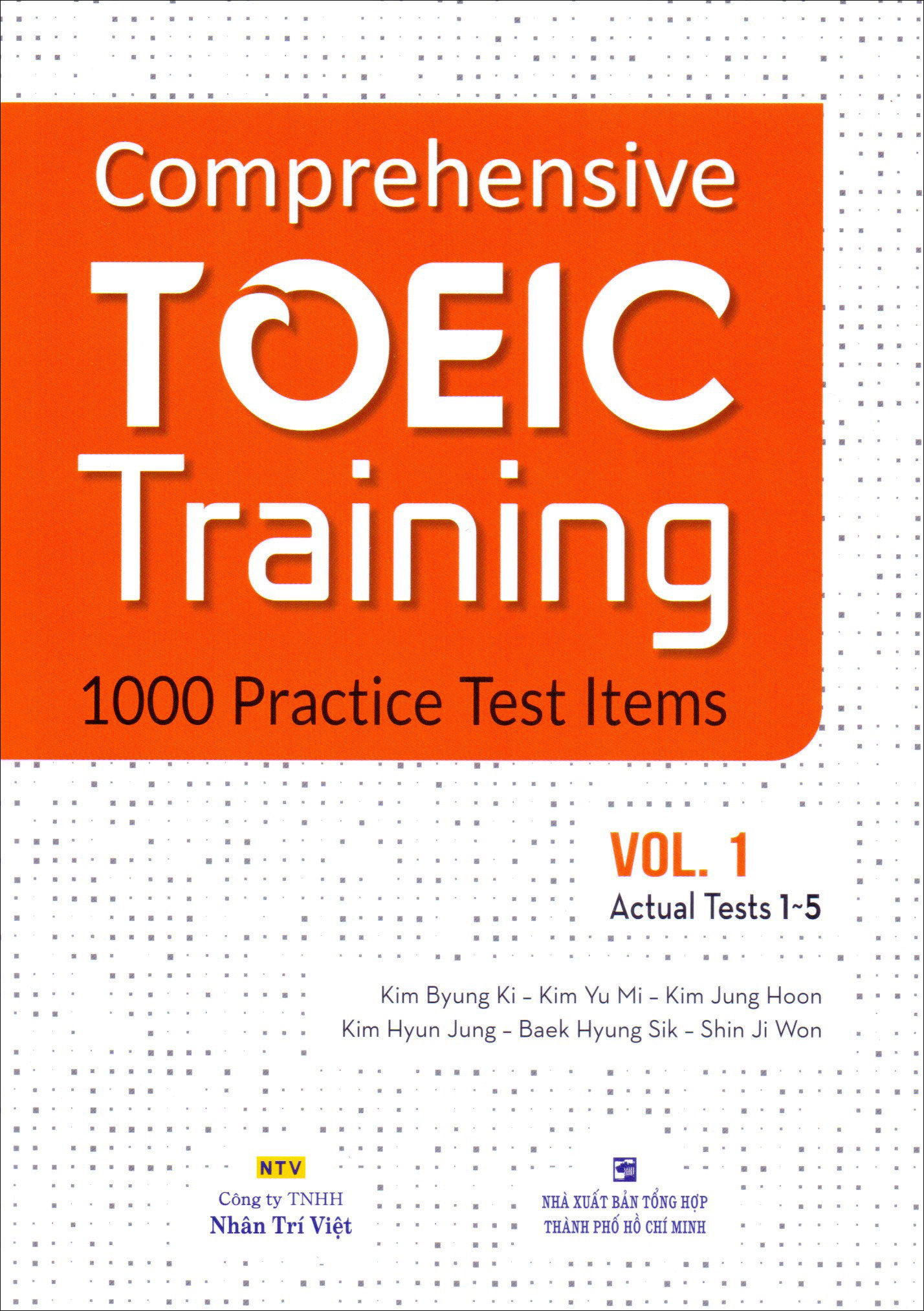 Comprehensive Toeic Training 1000 Practice Test Items (Vol 1) - Kèm CD