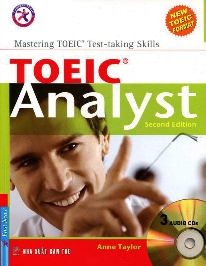 Bìa sách Toeic Analyst (Second Edition) (Không CD)