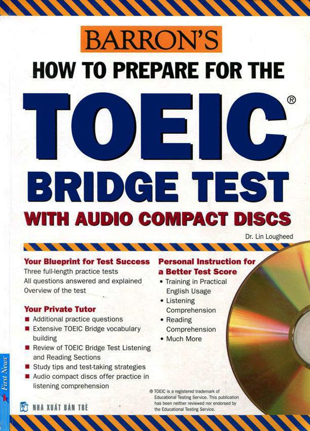 Bìa sách Toeic Bridge Test (Không Kèm CD)