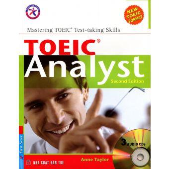 Bìa sách Toeic Analyst Second Edition (Kèm CD)