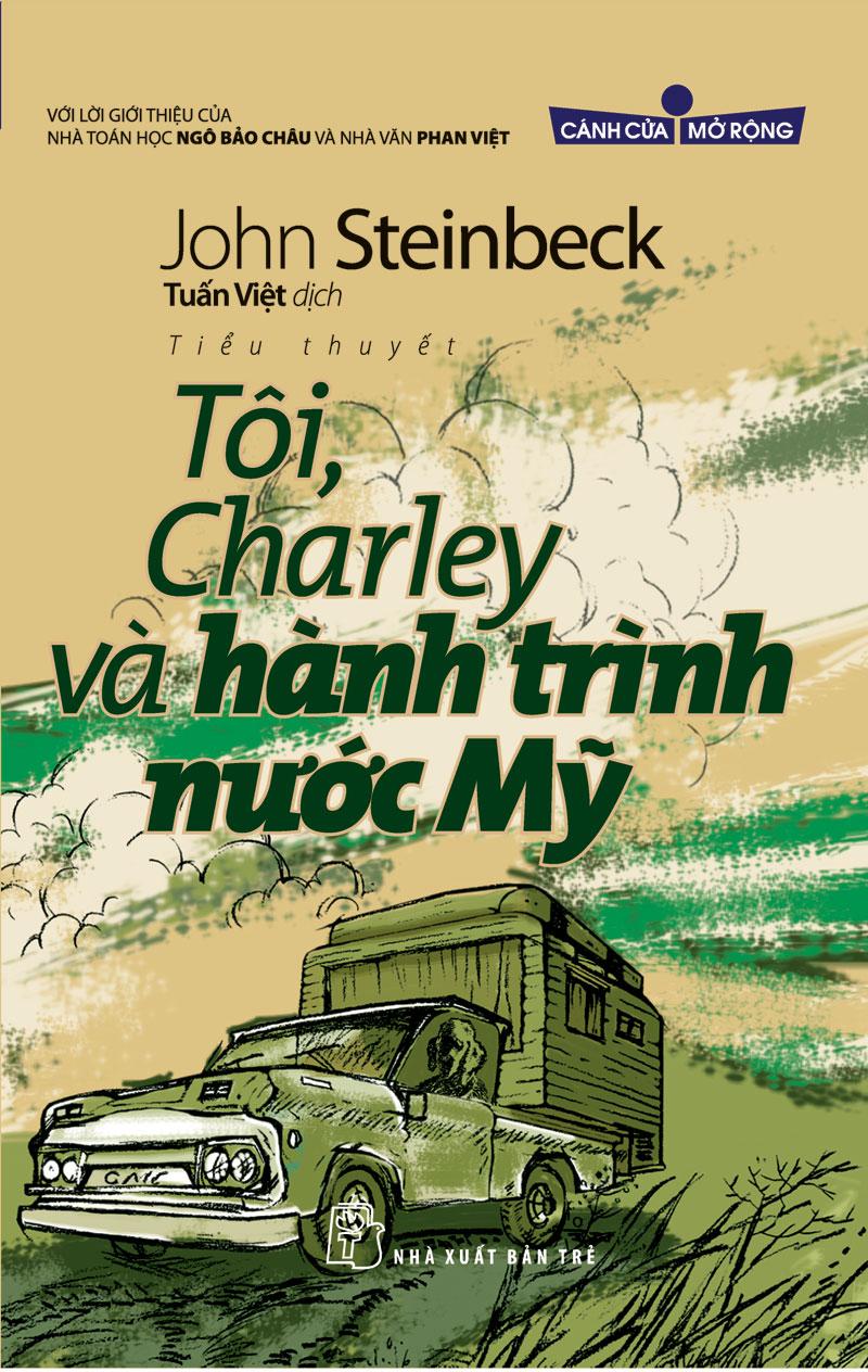 Bìa sách Tôi, Charley Và Hành Trình Nước Mỹ
