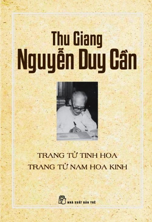 Bìa sách Trang Tử Tinh Hoa - Trang Tử Nam Hoa Kinh