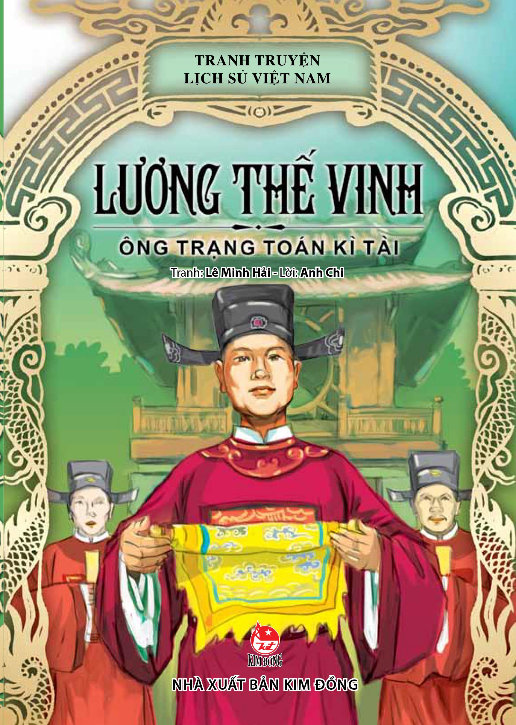 Bìa sách Truyện Tranh Lịch Sử Việt Nam - Lương Thế Vinh - Ông Trạng Toán Kì Tài