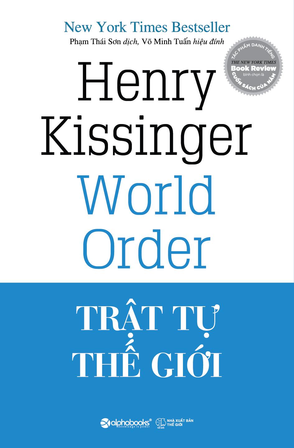 Bìa sách Trật Tự Thế Giới