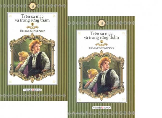 Bìa sách Trên Sa Mạc Và Trong Rừng Thẳm (Trọn Bộ 2 Tập) (Sách Bỏ Túi)