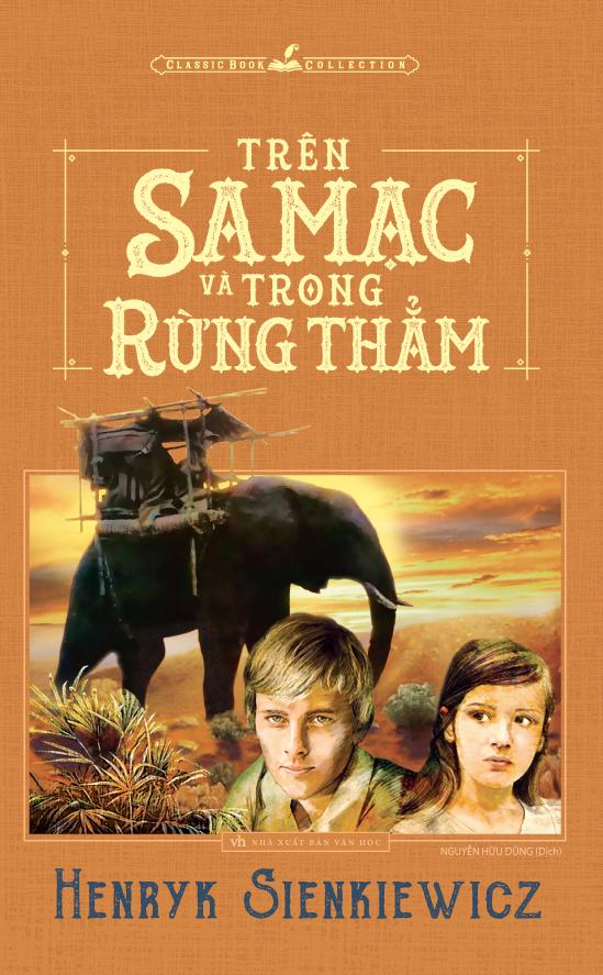 Bìa sách Trên Sa Mạc Và Trong Rừng Thẳm (Minh Long)
