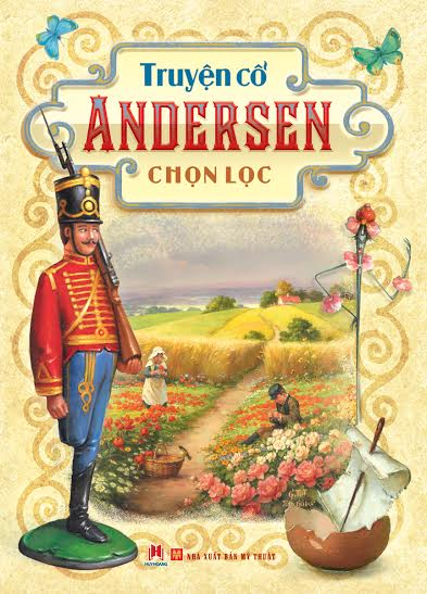 Bìa sách Truyện Cổ Andersen Chọn Lọc