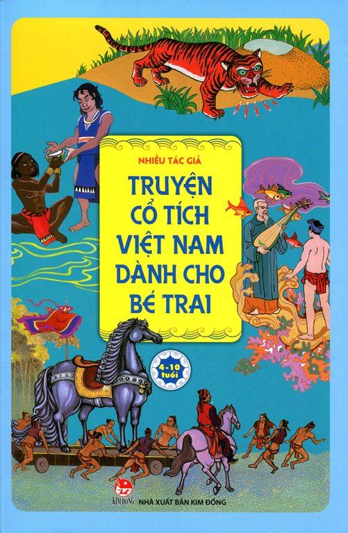 Bìa sách Truyện Cổ Tích Việt Nam Dành Cho Bé Trai