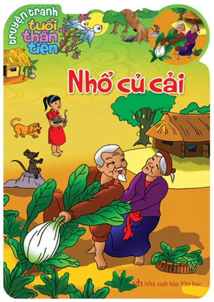 Bìa sách Truyện Cổ Tích Việt Nam Dành Cho Thiếu Nhi - Nhổ Củ Cải