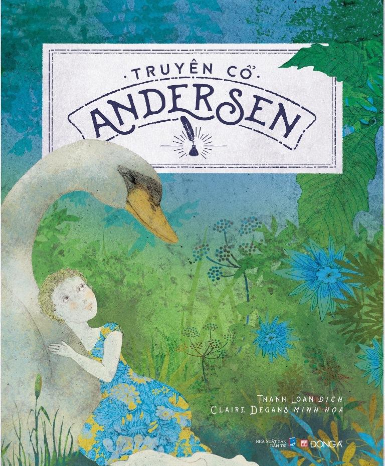 Bìa sách Truyện Cổ Andersen (Đông A)