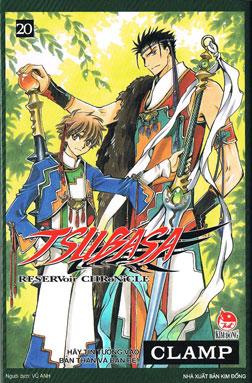Bìa sách Tsubasa - Đôi Cánh Thiên Thần (Tập 20)