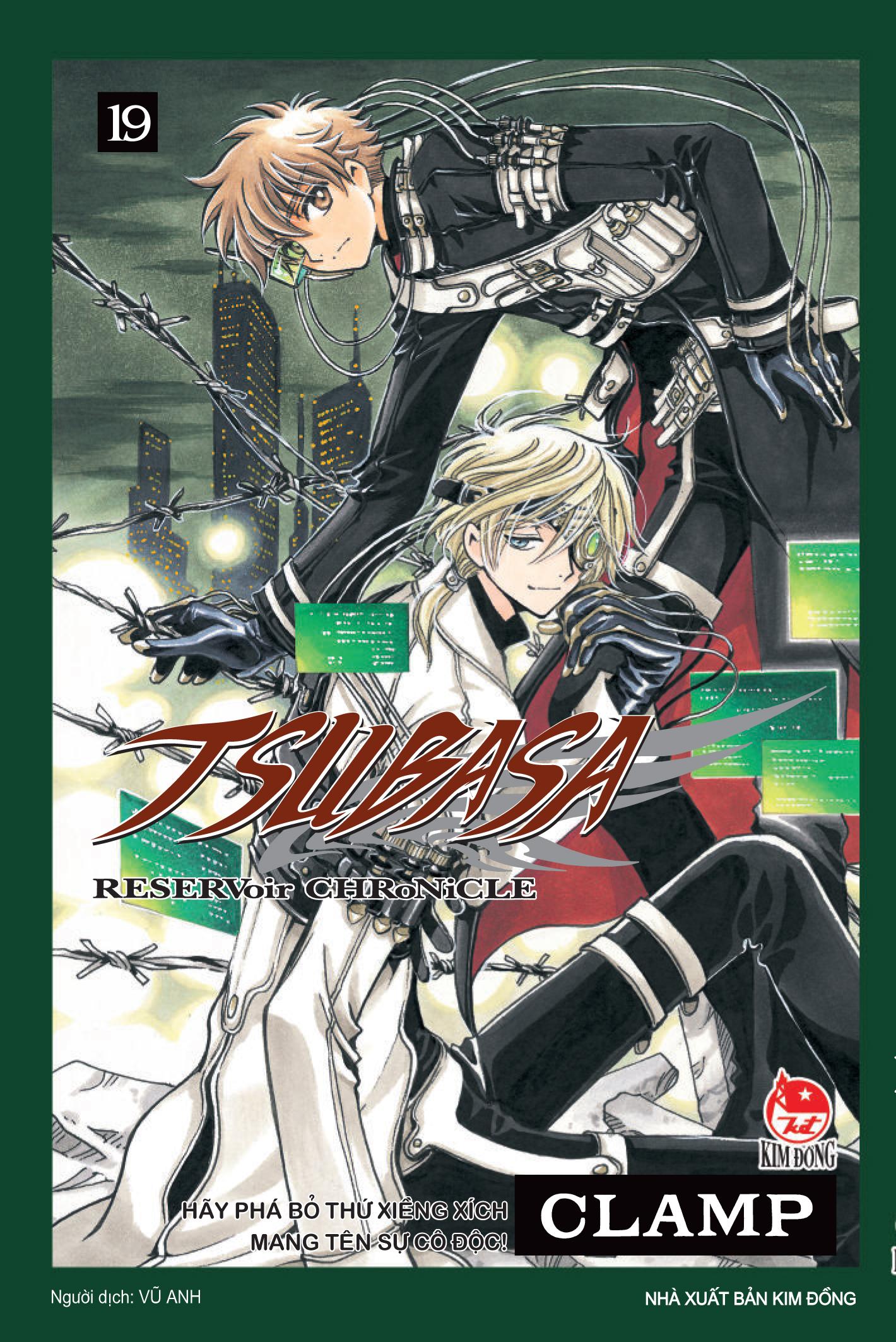 Bìa sách Tsubasa - Đôi Cánh Thiên Thần (Tập 19)