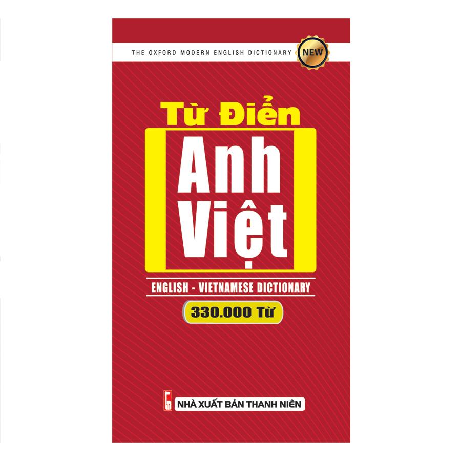 Bìa sách Từ Điển Anh - Việt 330.000 Từ