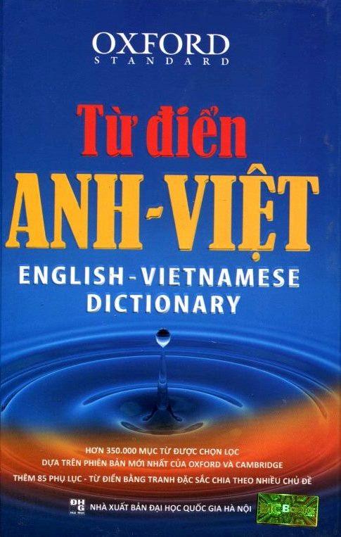 Bìa sách Từ Điển Anh - Việt (350.000 Mục Từ)