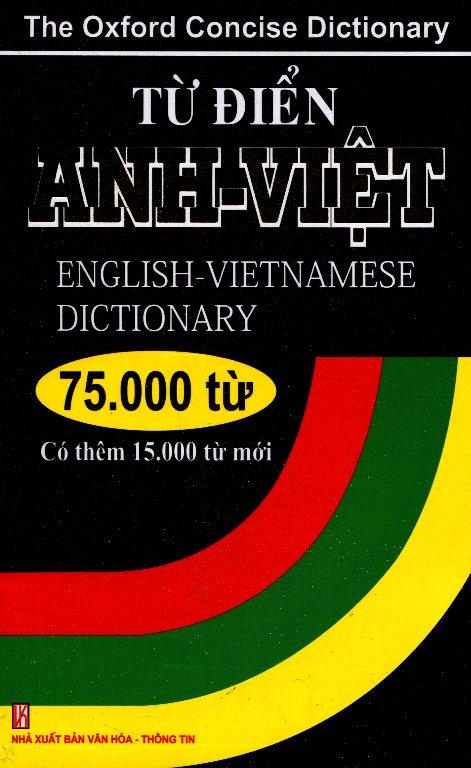 Bìa sách Từ Điển Anh - Việt