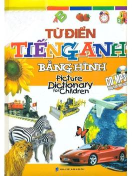 Bìa sách Từ Điển Tiếng Anh Bằng Hình (Kèm CD)