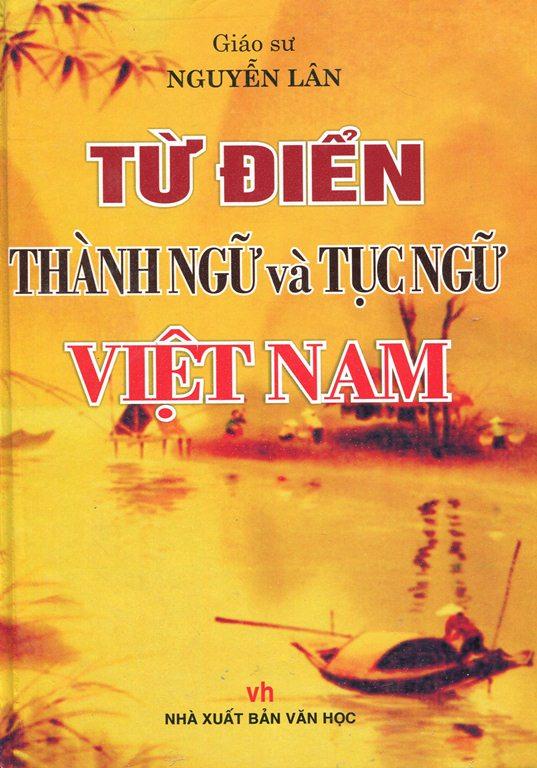 Bìa sách Từ Điển Thành Ngữ Và Tục Ngữ Việt Nam