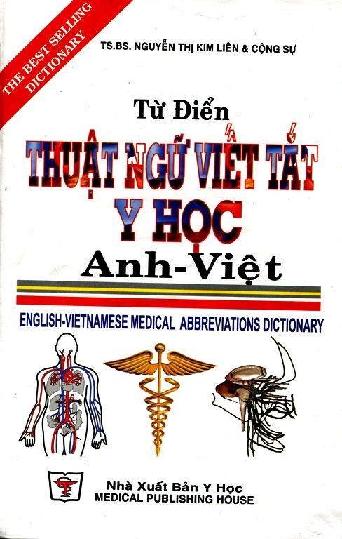 Bìa sách Từ Điển Thuật Ngữ Viết Tắt Y Học Anh - Việt