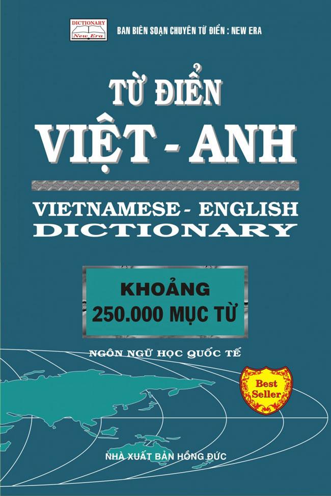 Bìa sách Từ Điển Việt - Anh 250.000 Từ