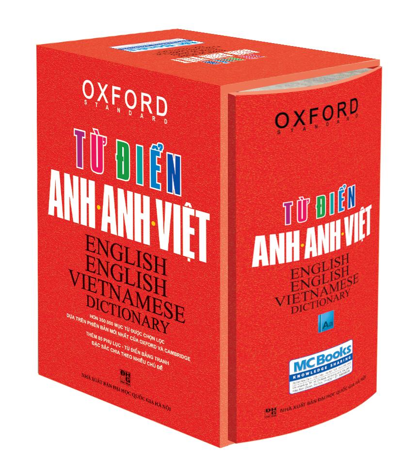 Bìa sách Từ Điển Anh - Anh - Việt (Bìa Cứng Cam)