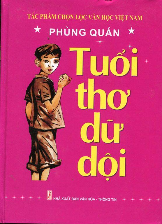 Bìa sách Tuổi Thơ Dữ Dội