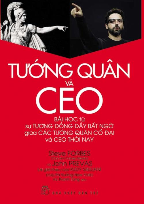 Bìa sách Tướng Quân Và CEO