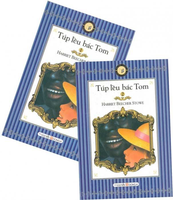 Bìa sách Túp Lều Bác Tom (Sách Bỏ Túi) - Trọn Bộ 2 Tập