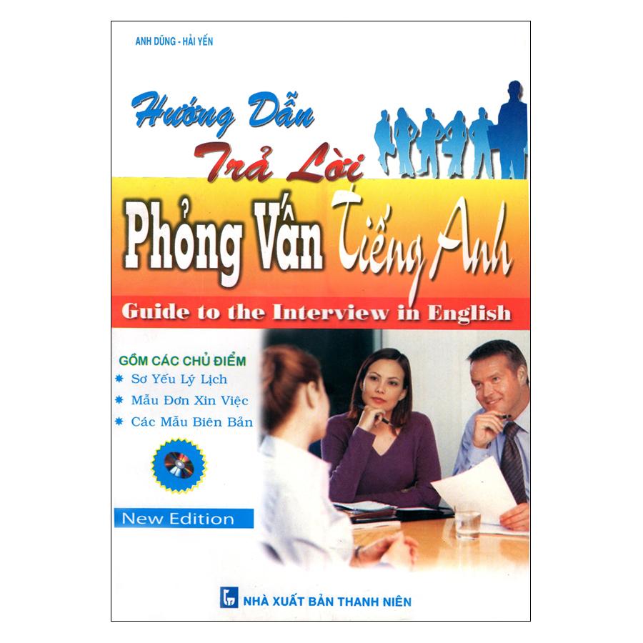 Bìa sách Hướng Dẫn Trả Lời Phỏng Vấn Tiếng Anh