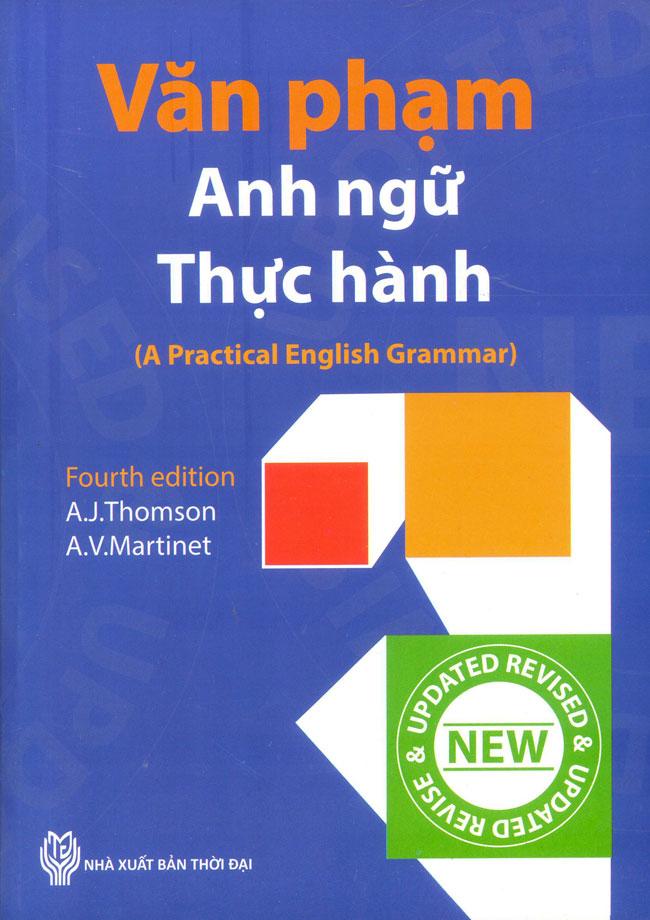 Bìa sách Văn Phạm Anh Ngữ Thực Hành
