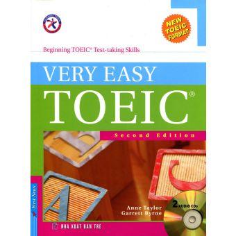 Bìa sách Very Easy Toeic - Kèm 2 CD