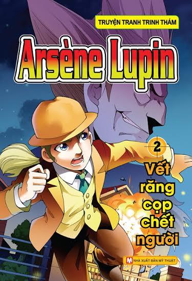 Bìa sách Arsène Lupin (Tập 2) - Vết Răng Cọp Chết Người
