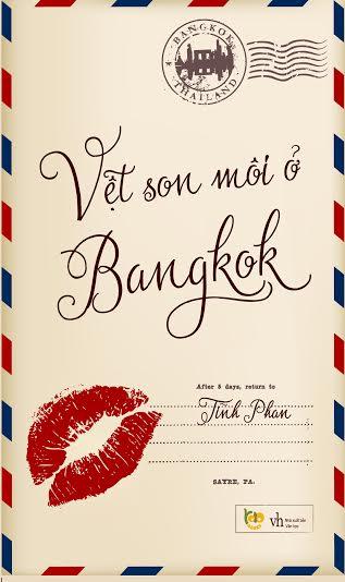 Bìa sách Vệt Son Môi Ở Bangkok