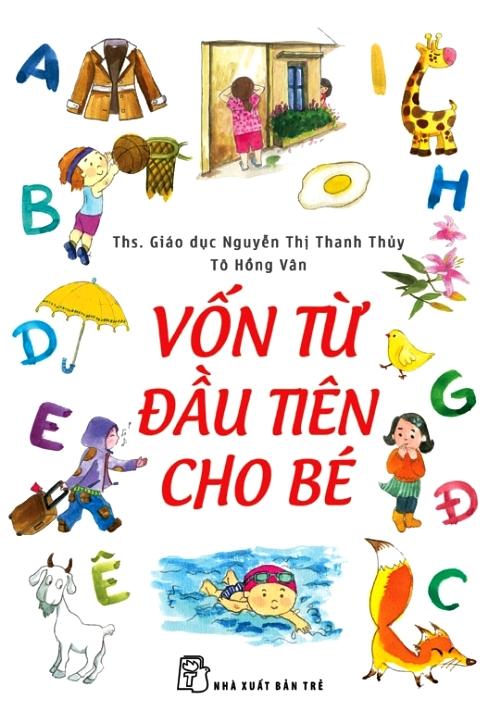 Bìa sách Vốn Từ Đầu Tiên Cho Bé