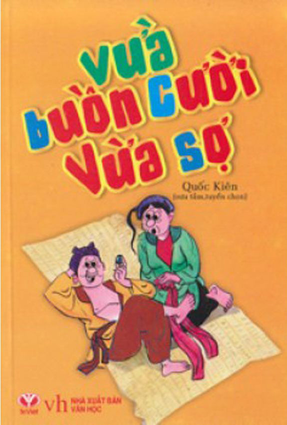 Bìa sách Vừa Buồn Cười Vừa Sợ