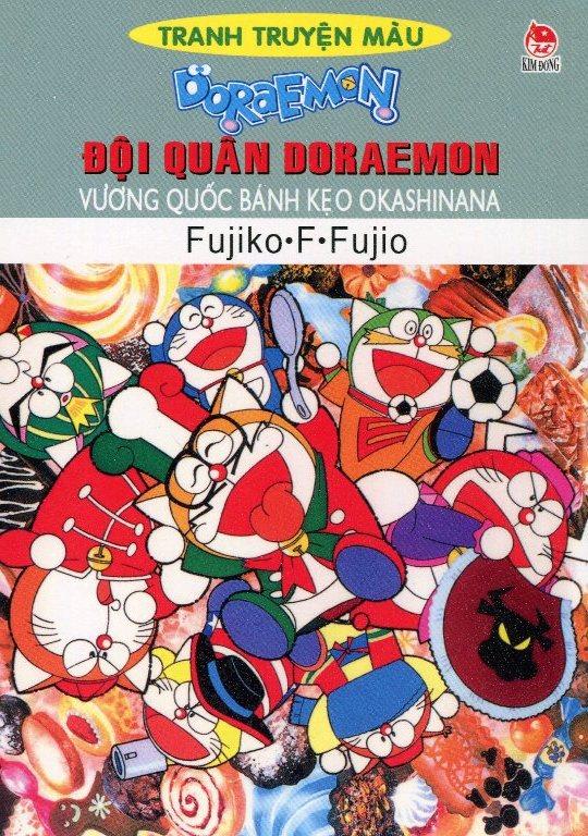Review sách Đội quân Doraemon – Vương Quốc Bánh Kẹo Okashinana