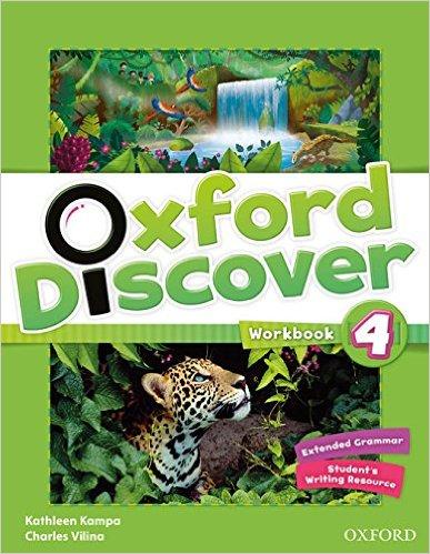Bìa sách Oxford Discover 4: Workbook - Paperback