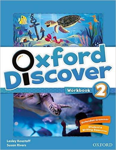 Bìa sách Oxford Discover 2: Workbook - Paperback