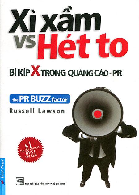 Bìa sách Xì Xầm Vs Hét To - Bí Kíp X Trong Quảng Cáo PR