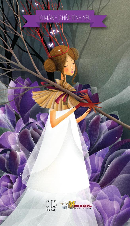 Bìa sách 12 Mảnh Ghép Tình Yêu - Xử Nữ