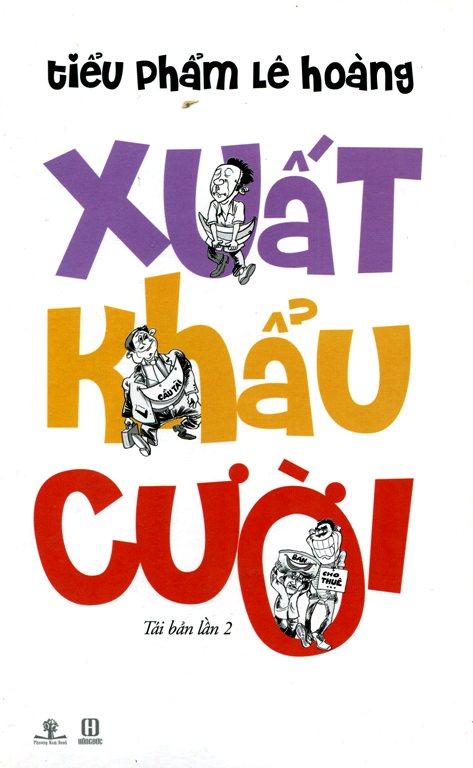 Bìa sách Xuất Khẩu Cười (Tái Bản 2014)
