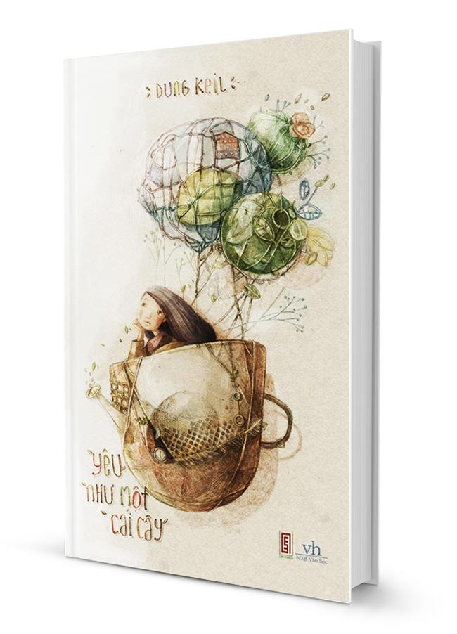 Bìa sách Yêu Như Một Cái Cây