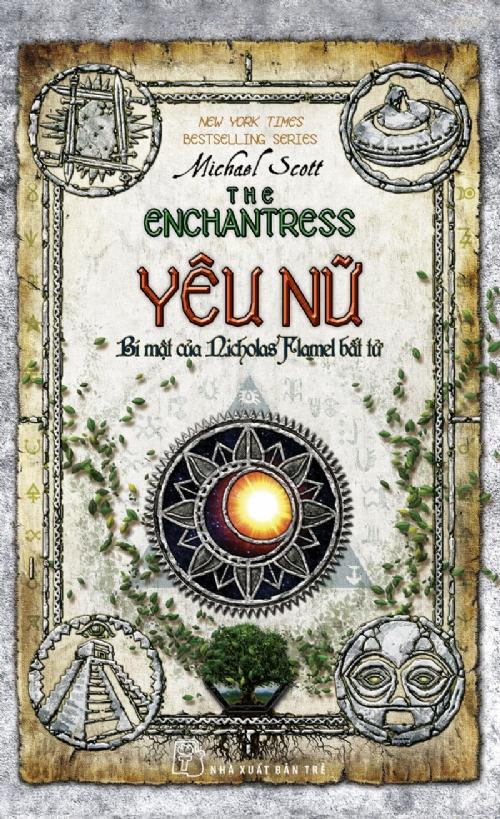 Bìa sách Yêu Nữ - Bí Mật Của Nicholas Flamel Bất Tử