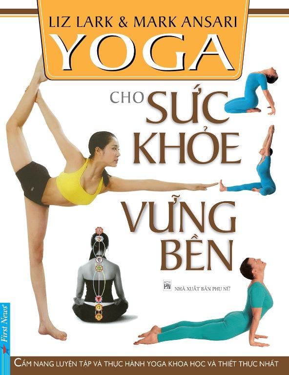 Bìa sách Yoga Cho Sức Khỏe Vững Bền