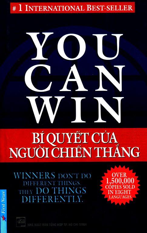 Bìa sách You Can Win - Bí Quyết Của Người Chiến Thắng (Tái Bản)