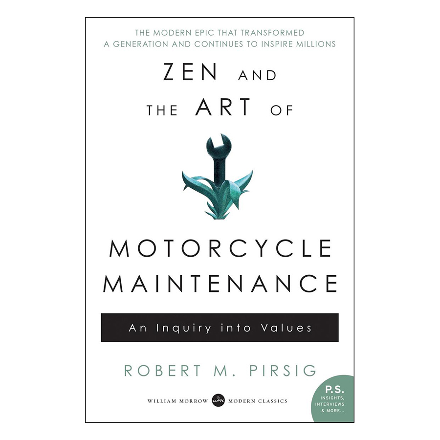 Bìa sách Zen And The Art Of Motorcycle Maintenance